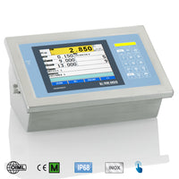 "3590EGT Indicator ""GRAPHIC TOUCH"": Touch Screen weight indicator for industrial applications"