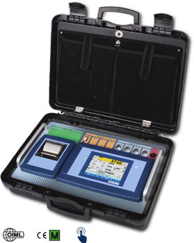 "3590ETKR ""TOUCH"": Touch Screen weight indicator with transport case"