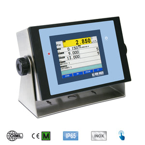 "3590ETT ""TOUCH"": Touch Screen weight indicator with adjustable inclination"