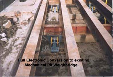 Mechanical Weighbridge Conversions
