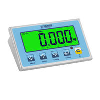 """DFWLID"": STAINLESS STEEL INDICATOR WITH LARGE LCD DISPLAY"