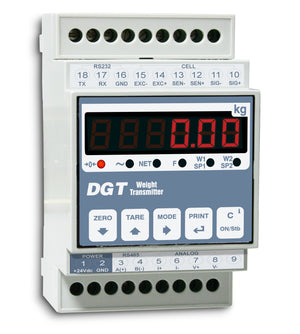 DGT1S DIGITAL WEIGHT TRANSMITTER - INDICATOR