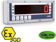 "DGT603GD MAXI ""GOLIAH"" WEIGHT INDICATOR-REPEATER FOR HAZARDOUS AREAS"