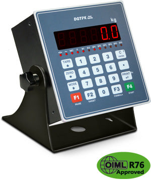 DGTPK DIGITAL WEIGHT TRANSMITTER-INDICATOR WITH EXTENDED KEYBOARD