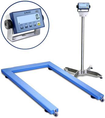 "EPWL ""LOGISTIC"" PALLET-WEIGHING FLOOR SCALES SERIES"