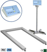 "EPWLI ""LOGISTIC"" STAINLESS STEEL PALLET-WEIGHING FLOOR SCALES SERIES"