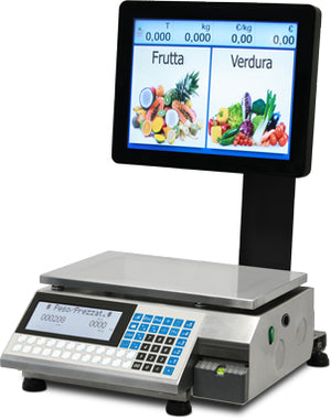 "GP SERIES ""CONTACT"" SELF SERVICE SCALE WITH TOUCH SCREEN"