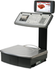 "GPE SERIES ""MK"" RETAIL COUNTER SCALES WITH MECHANICAL KEYBOARD AND COLOR DISPLAY 7"""