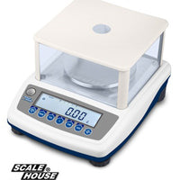 "HLD SERIES TECHNICAL PRECISION ""TOP-LOADING"" SCALE WITH DRAUGHT SHIELD"
