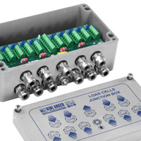 """JB10Q"": EQUALISED JUNCTION BOX, WITH UP TO 10 LOAD CELLS"