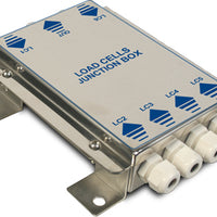 """JBQI"": EQUALISED JUNCTION BOX WITH 4-6 INPUTS, IN IP65 STAINLESS STEEL"