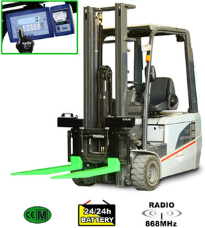 "LTF ""PROFESSIONAL"" SERIES WEIGHING KIT FOR LIFT TRUCK FORKS"