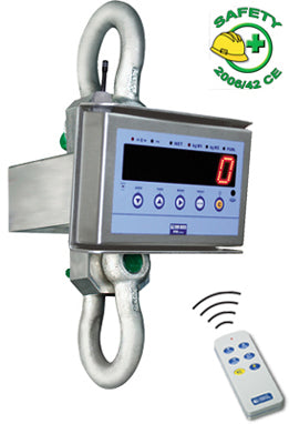 "MCW09 ""PROFESSIONAL"" STAINLESS STEEL CRANE SCALE SERIES"
