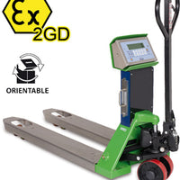 "TPWX2GD ""HAZARDOUS ZONE"" SERIES PALLET TRUCK SCALE ATEX"