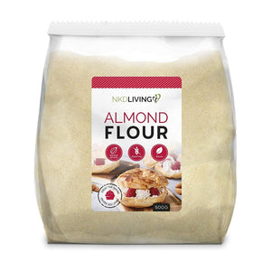 دقيق اللوز 500 جرام - NKD Living Almond Flour 500 gm