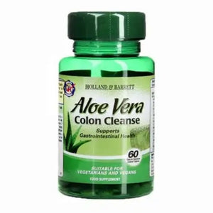 الألو فيرا  60 قرص - Holland & Barrett Aloe Vera Colon Cleanse 60's
