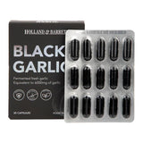 الثوم الاسود  30 كبسولة - Holland & Barrett Black Garlic Capsules 30's