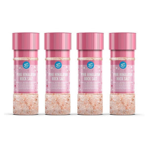 ملح الهيمالايا الوردي 4*100 جم - Happy Belly Pink Himalayan Rock Salt Mill 100 g (Pack of 4)