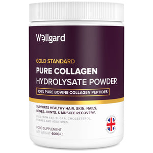 كولاجين ببتيد باودر 400 جرام - Wellgard Gold Standard Collagen Peptides Powder 400 g