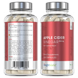 خل التفاح 120 كبسولة - Weight World Apple Cider Vinegar Capsules 120's