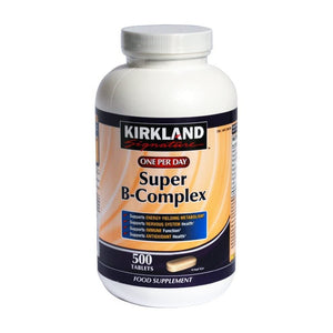 فيتامين ب مركب 500 قرص - Kirkland Signature Super B-Complex Tablets 500's
