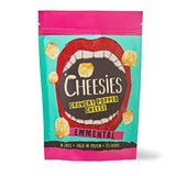 تشيزيز قطع جبن مقرمشة 60 جم 9 اكياس - جبنة ايمنتال - Cheesies Crunchy Popped Cheese Snack 60g 9's - Emmental