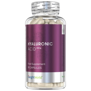 كبسولات الهيالورونيك أسيد  400 مجم 60 كبسولة - Weight World Hyaluronic Acid 400 mg Capsules 60's