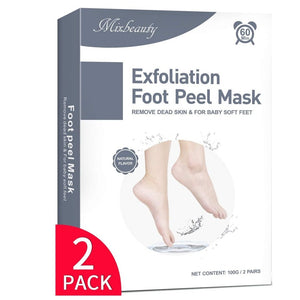 ماسك القدم / عدد 2 ماسك - Mixbeauty Exfoliation Foot Peel Mask 2 Pairs