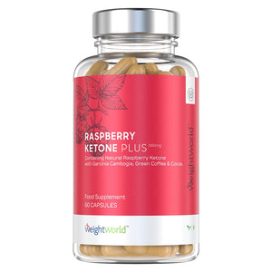كبسولات الراسبري كيتون 60 كبسولة - Weight World Raspberry Ketone Plus Capsules 60's