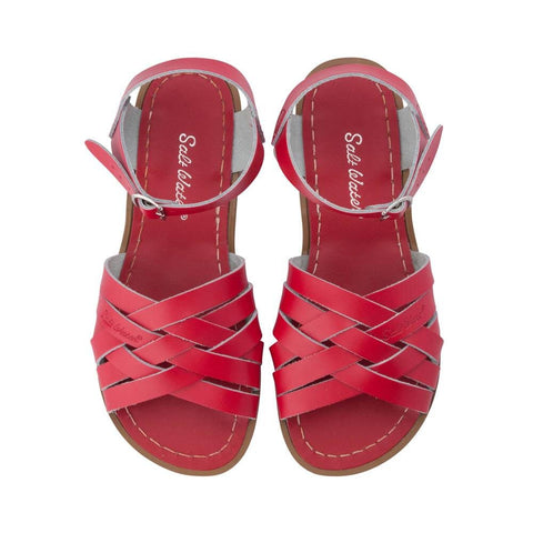 Retro Saltwater Sandals - Red - Scout Newcastle