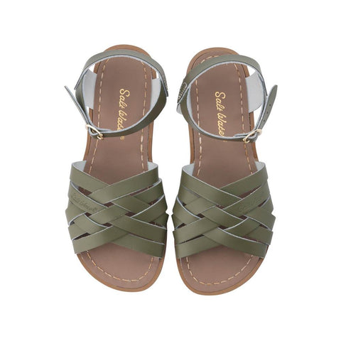 Retro Saltwater Sandals - Olive - Scout Newcastle