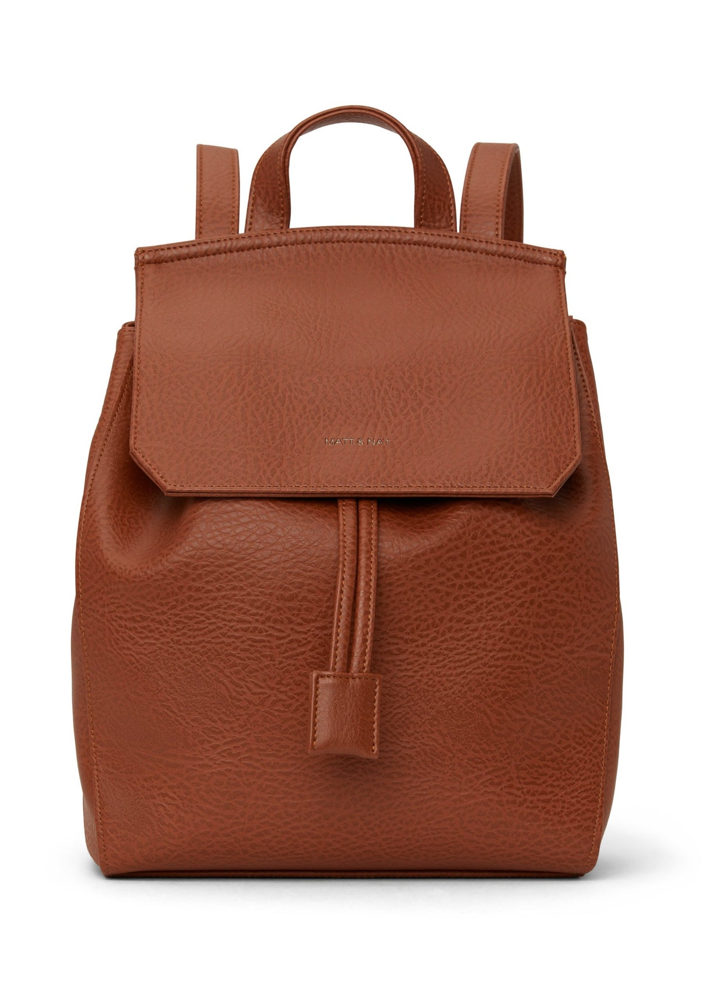 Matt & Nat - Mumbai Dwell Backpack - Chai (Tan) Vegan Leather