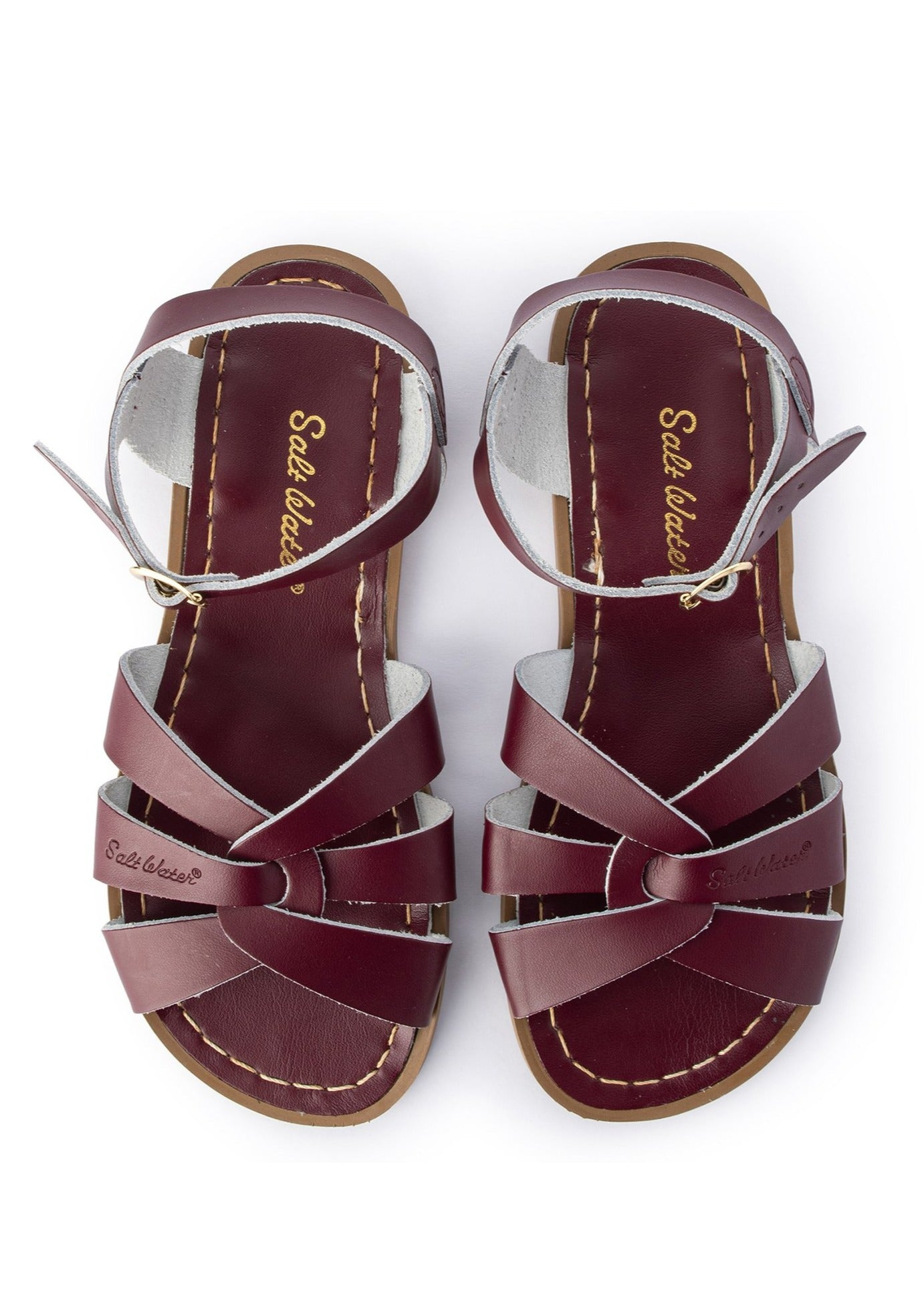 Claret Salt Water Sandals - Original
