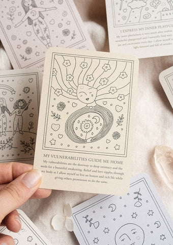 Musings from the Moon - Self-Love Affirmation Cards