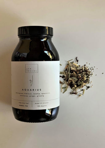 Jar of Tea - Aquarius Herbal Blend