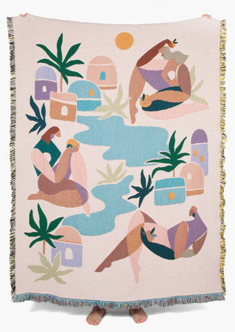 Slowdown Studio - Ayers Throw - Maggie Stephenson