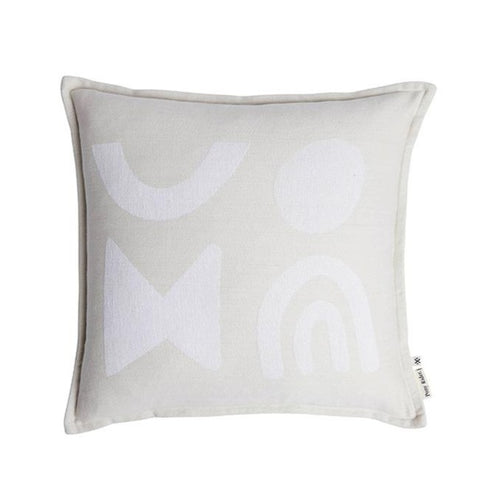 Modern Light Cushion with Inner - Oats / Natural