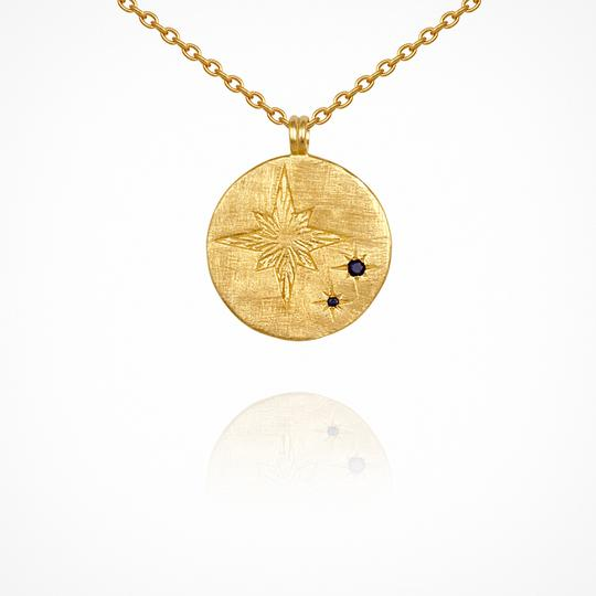 Temple of the Sun - Celina Necklace - Gold