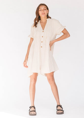 Cody Playsuit - Oat