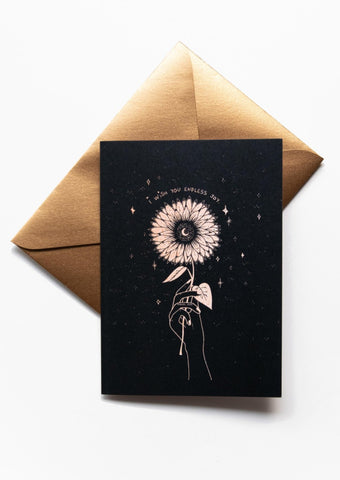 'Joy' Greeting Card