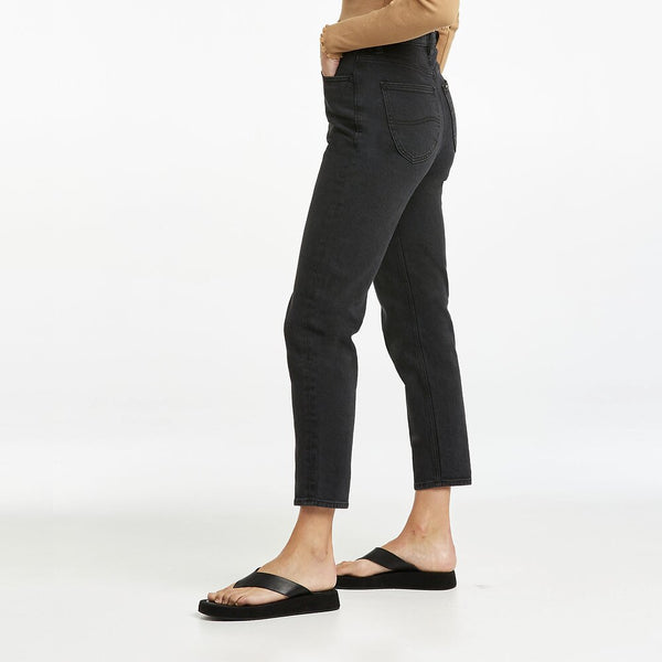 Lee Jeans - High Moms Jeans - Bias Black