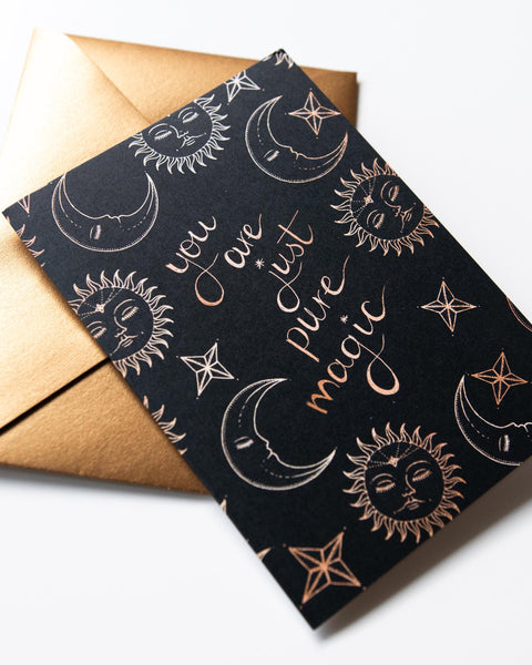 'You are Magic' Greeting Card