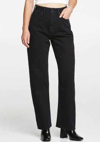 High Baggy Jeans - Homme Black