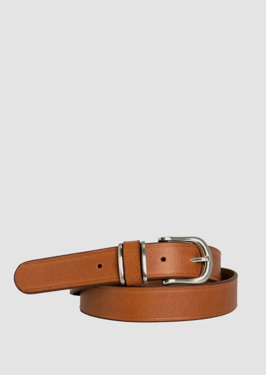 Loop Leather - Rippon Lea Belt - Tobacco Tan
