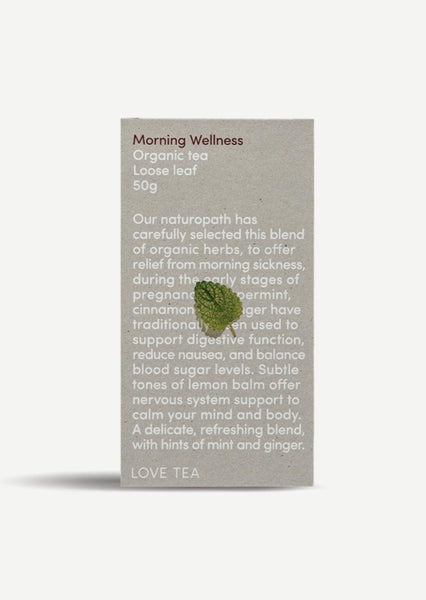 Love Tea - Morning Wellness Tea - 50g Loose Leaf