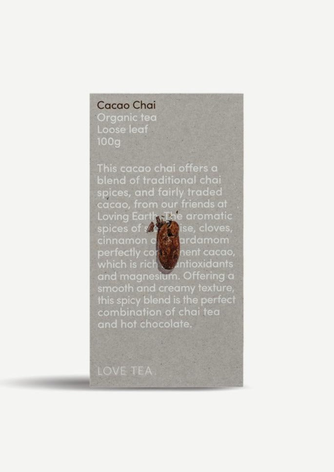 Love Tea - Cacao Chai - 100g Loose Leaf