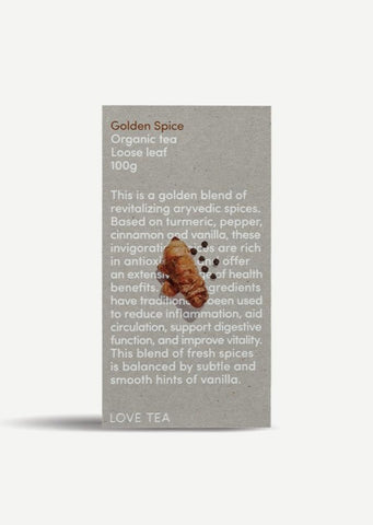 Golden Spice Tea - 100g Loose Leaf