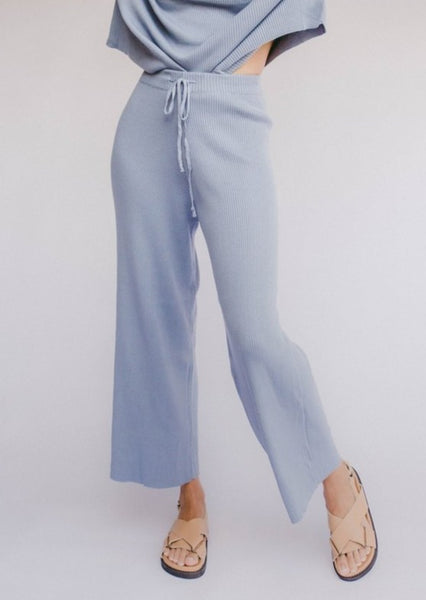 Alex Knit Pants - Denim