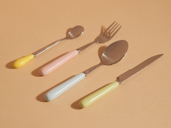 Pastel Cutlery - Set of 16