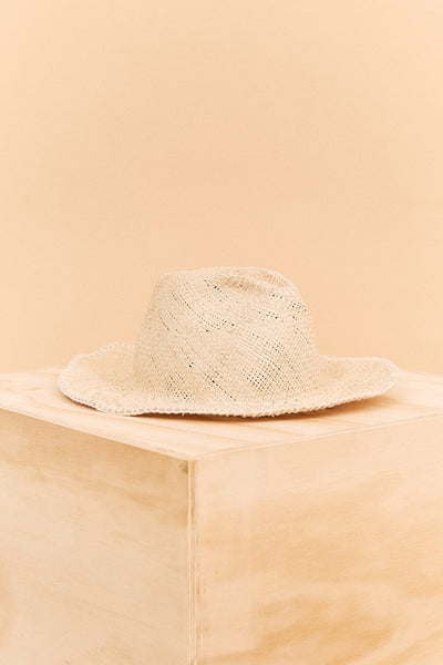 Before Anyone Else - Pine Hat - White Embroidery